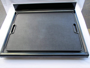 Buy more counter space stove top stove burner covers countertop 19x27 large cutting board kitchen accessories for more kitchen space sturdy easy to clean serving tray with handles black legless