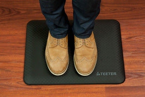 Shop here teeter 3 4 inch anti fatigue standing desk comfort mat back pain relief mat for work or in the kitchen durable compact 19 5 x 15 inches