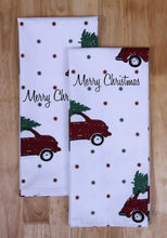 Selection set of apron oven mitt pot holder pair of kitchen towels in a unique merry christmas design made of 100 cotton eco friendly safe value pack and ideal gift set kitchen linen set by casa decors