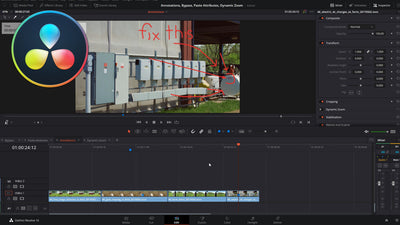 Annotations, Bypass, Paste Attributes, Dynamic Zoom in DaVinci Resolve