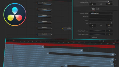 Using media in Fusion for DaVinci Resolve