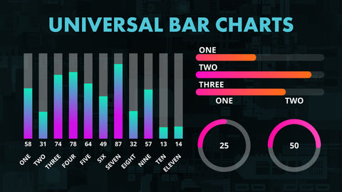 Universal Bar Charts for DaVinci Resolve