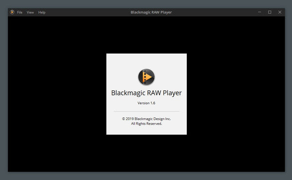 blackmagic raw player for windows