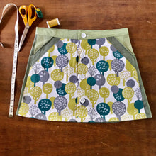 Japanese button up skirt - Size 12