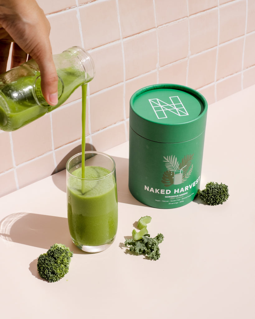 naked harvest gorgeous greens smoothie