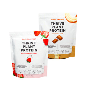 Strawberries and Cream & Choc Swirl Thrive Protein Bundle