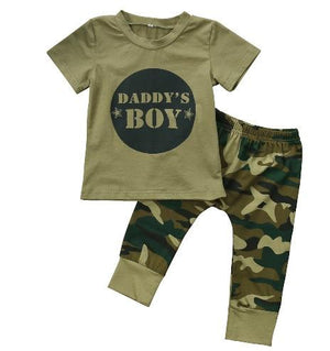 Daddy's Boy Camouflage Army Set