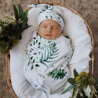Enchanted - Snuggle Swaddle & Beanie Set