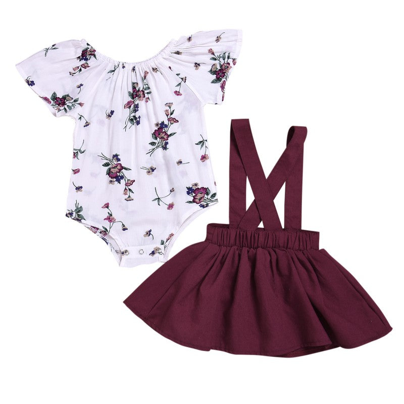Maroon Summer Dreams Set