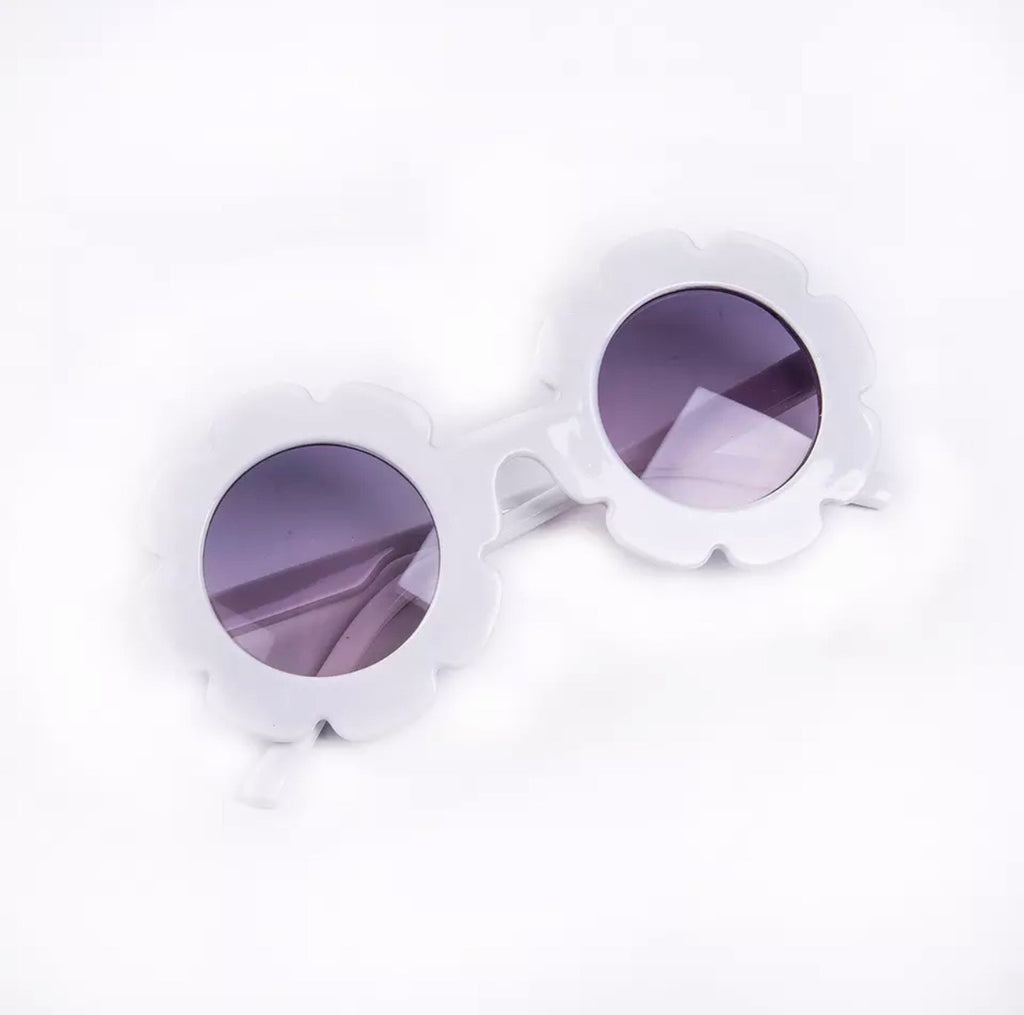 White Sunglasses - UV Protect