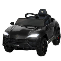 Licensed Black Lamborghini URUS Electric Car - With Remote