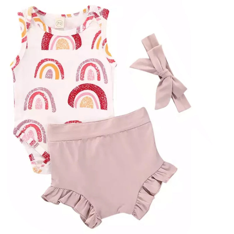 Pink Rainbows Set