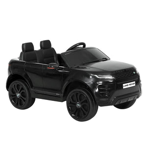Licensed 4x4 Range Rover Black Electric Car - With Remote