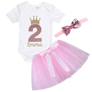 Personalised 2nd Birthday Outfit - Lullaby Lane Design