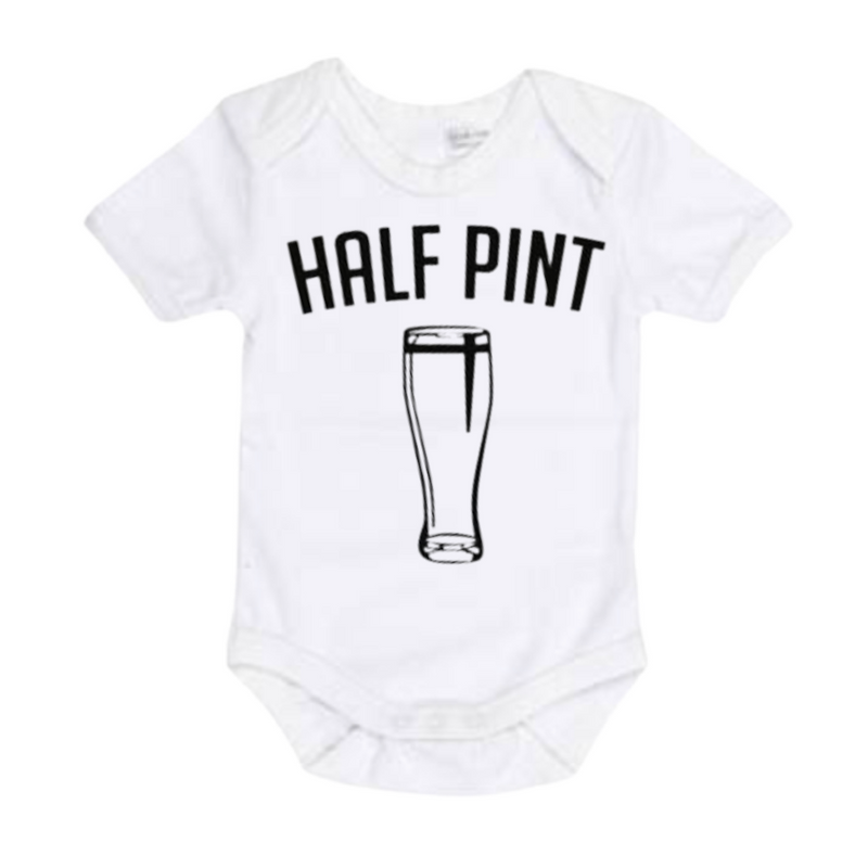 Pint & Half Pint - Matching Shirts - White