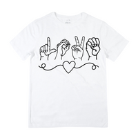 Love Sign - White