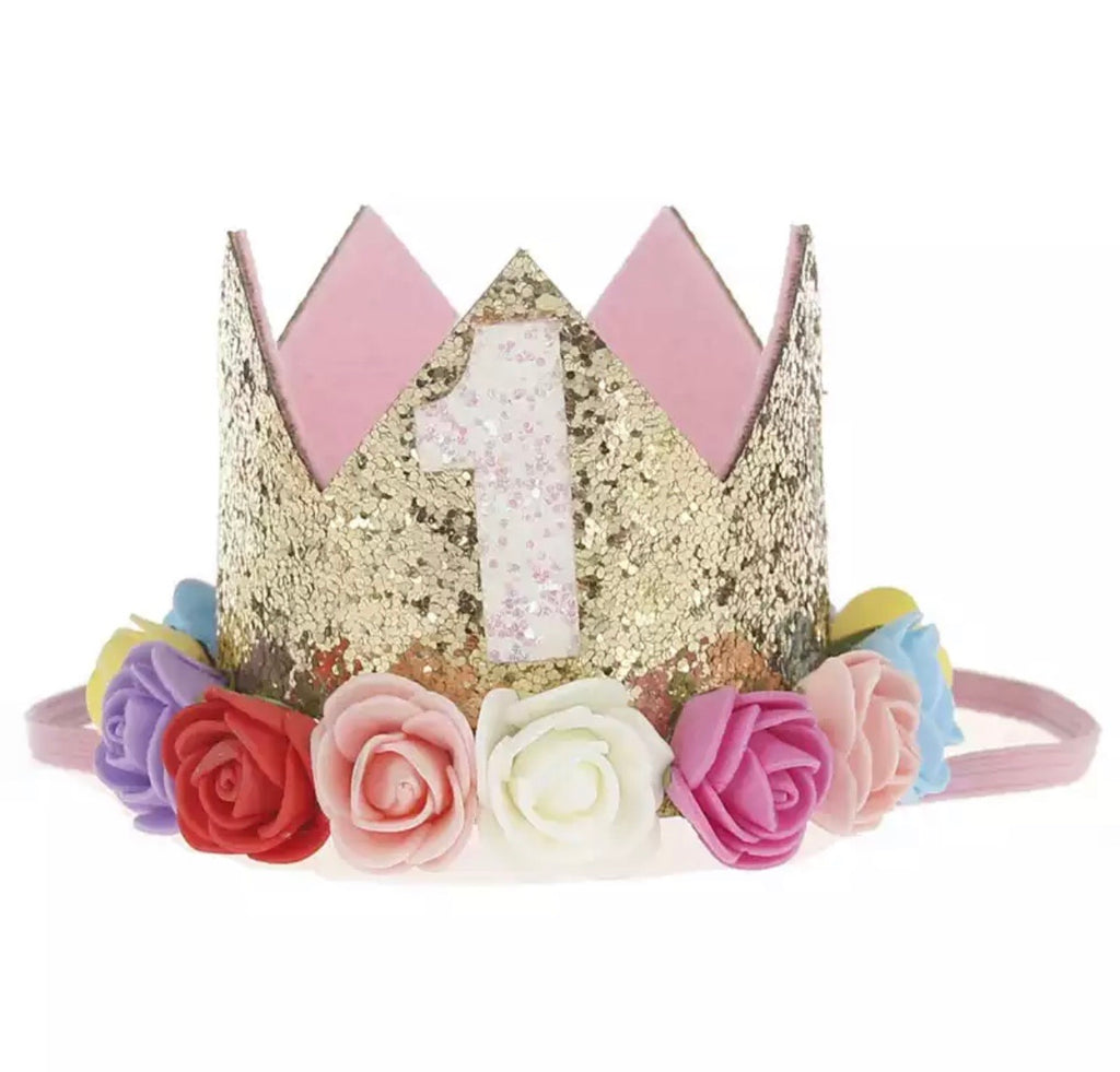 Playful 1 - First Birthday Crown