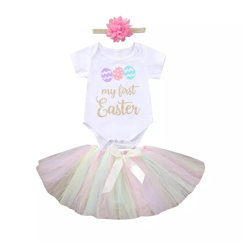 My First Easter Tutu Set