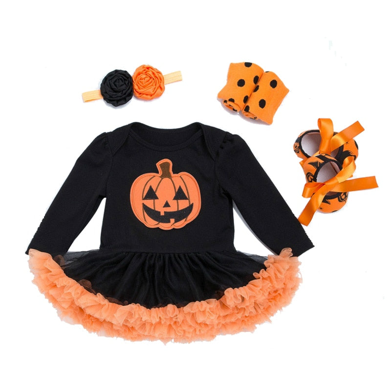 Pumpkin Long Sleeve Set