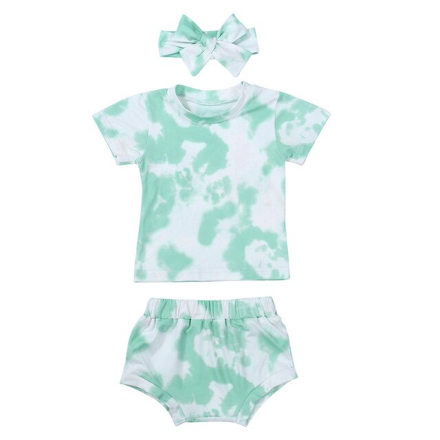 Mint Two Piece Set + Headband
