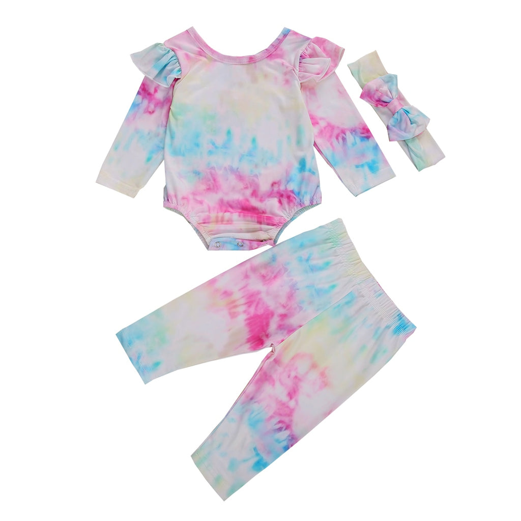 Relaxed Vibes Tie-Dye Set + Headband