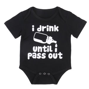 Drink until I Pass Out Onesie