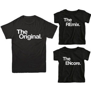 Original / Remix / Encore. T-Shirts.