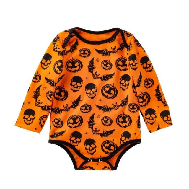 Pumpkin's & Bat's Bodysuit