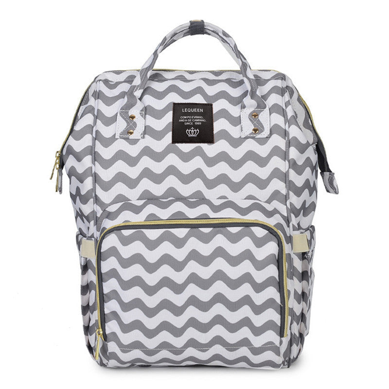Striped Nappy Bag