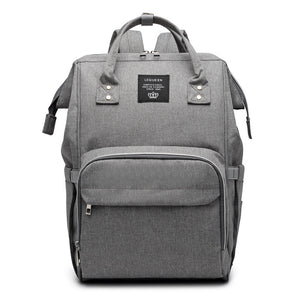 Deep Gray Versatile Nappy Bag