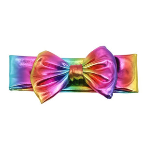 Rainbow Metallic Bowknot Headband