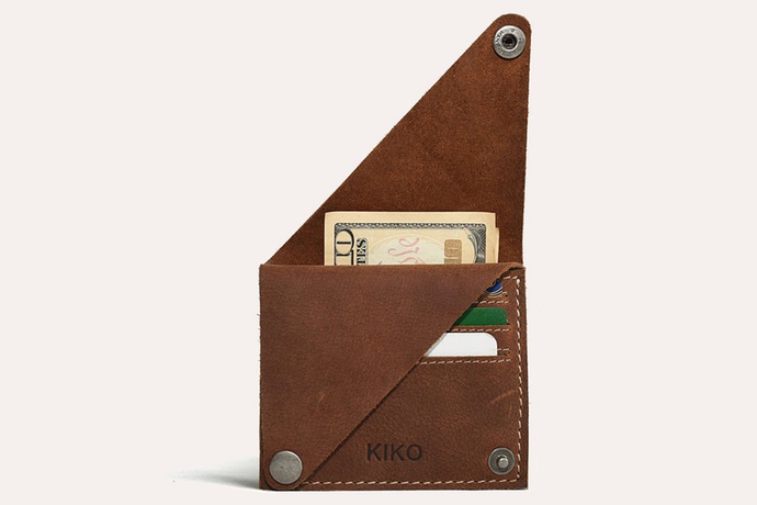 Wing Fold Card Wallet