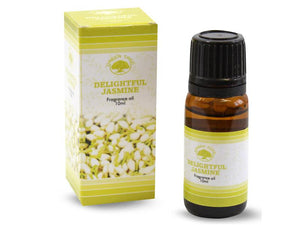 Tuoksuöljy Green tree Delightful jasmine jasmiini 10ml