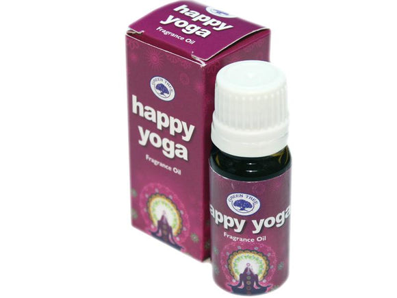 Tuoksuöljy Green tree Happy yoga jooga 10ml