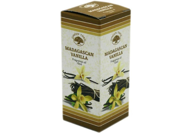Tuoksuöljy Green tree Madagascan vanilla vanilja 10ml