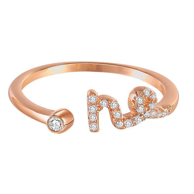 Zodiac Sign Ring - Capricorn