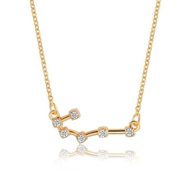 Zodiac Sign Necklace, Sign - Cancer