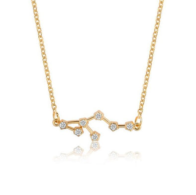 Zodiac Sign Necklace, Sign - Leo