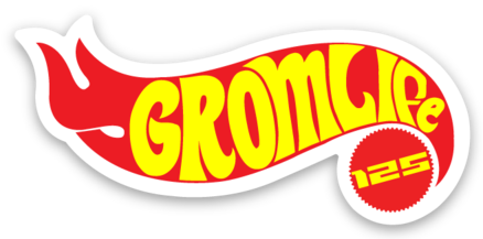 GROM Life Hot Wheels Die Cut Vinyl Decal - 8 Bit Decals