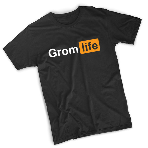 Grom Life (PH) T-Shirt - 8 Bit Decals