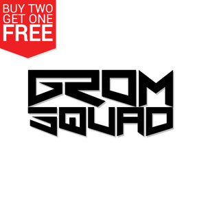 Grom Squad Vinyl Decal - 8 Bit Decals