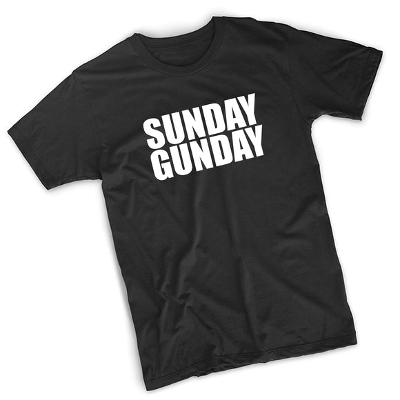 Sunday Gunday T-Shirt - 8 Bit Decals