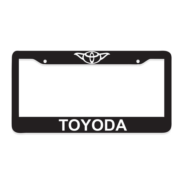 Toyoda License Plate Frame - 8 Bit Decals