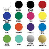 Circle Hand Vinyl Decal - 8 Bit Decals