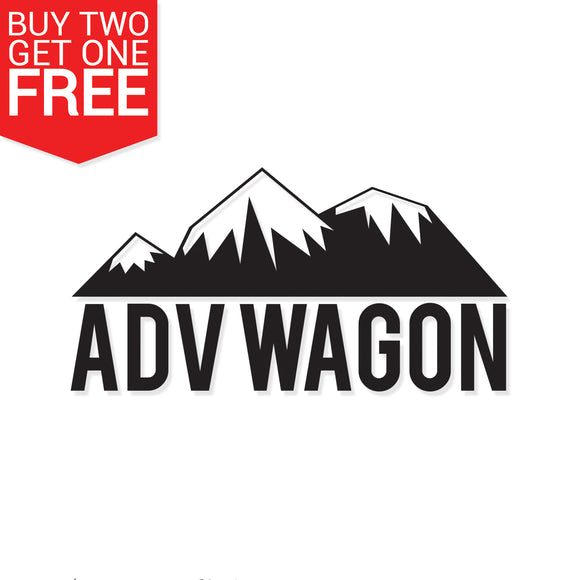 ADV Wagon Vinyl Decal - 8 Bit Decals