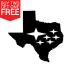 Subaru Texas State Vinyl Decal - 8 Bit Decals