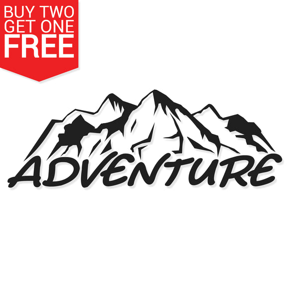 Adventure Vinyl Decal - 8 Bit Decals