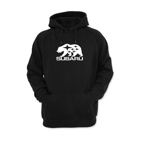 Subaru California Bear Hoodie - 8 Bit Decals