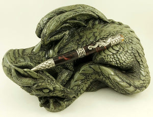 Antique brass Dragon Pen #1483