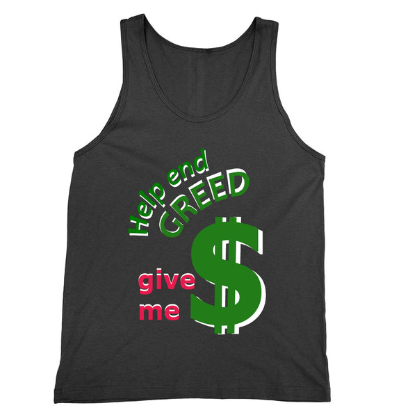 Help End Greed Tank Unisex